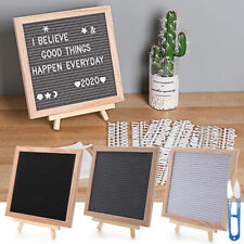 Wooden Frame Message Boards Felt Letter Board Oak Frame Black Memo Board