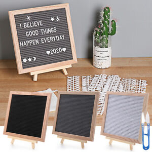 Wooden Frame Message Boards Felt Letter Board Oak Frame Black Memo Board