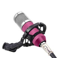 Profi Mikrofon Microfon Kondensator STUDIO Voll Set Rap Equipmen BM800 Rosa