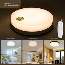 24W LED Ceiling Down Light Dimmable Thin Flush Mount Kitchen Lamp Home Fixture