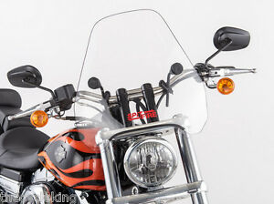 "Honda Shadow VT1100 Sabre Spirit AERO ACE - Clear 15"" CSF Windshield w/Hardware"