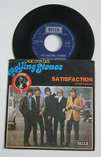 THE ROLLING STONES SATISFACTION Belgian Picture Sleeve 45 L'age d'Or Vol. 8