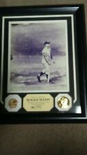 Roger Maris Highland Mint Photo Mint 24kt Gold Overlay Coin Framed Photo /1961
