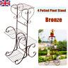 4 Tier Plant Stand Flower Display Shelf Rack Garden Home Ornament Outdoor Bronze