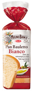 PAN BAULETTO BIANCO CLASSICO OLIO EVO MULINO BIANCO PANE FETTE TIPO 0 VEGAN 400g