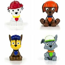 Cake Toppers Bundle Of Four Paw Patrol Mini Figures Chase, Marshall, Zuma And