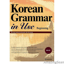 Korean Grammar in Use with MP3 CD Beginning to Early Intermediate Text BookBO12