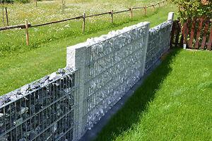 Palisaden Randsteine Granit Gabione Marmor Zaunpfosten Sichtschutz Padang Basalt