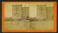 RARE  1875  BASEBALL  MT  WINDSOR  ME.  STEREOSCOPE  !!