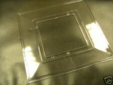 1 Gang Clear Finger Plate For Single Light Switches
