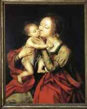 Massys Jan Holy Virgin And Child A3 Box Canvas