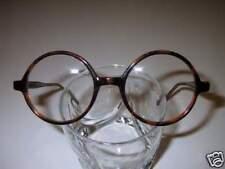 Vintage Style Eyeglasses Medium  Round Tortoise