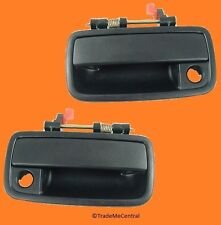 Daihatsu Charade G200 Outside Door Driver Passenger Handles Black Right Left NEW
