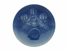 Bing & Grondahl 1980 Christmas Jubilee Plate Happiness Over the Yule Tree Mint