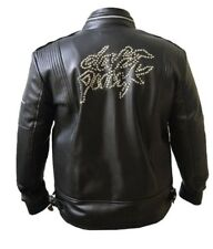Daft Punk Leather Jacket Electroma Hero Robot Rivet