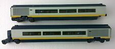 Hornby OO Gauge Eurostar EMU Intermediate Articulated Coaches Pair 3219/3220.