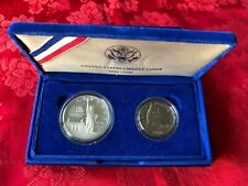 New listing 1986 Statue of Liberty Ellis Island Centennial Two Coin Set