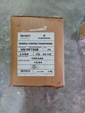 Emerson Solahd Buck Boost Transformer Hs19f750b 750kva 120 X 240 Vac 1224 Bb