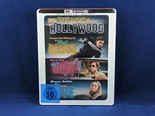 ONCE UPON A TIME IN HOLLYWOOD Steelbook Bluray 4K VF UHD Pitt DiCaprio Tarantino