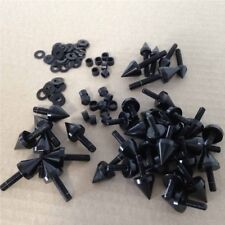 Motorcycle Fairing Bolts Kit Screw Spike Black For 2006-2010 2009 Yamaha YZF-R6S