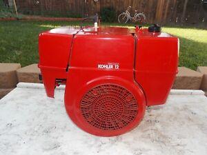"""NOS Kohler Magnum 12hp Cast Iron Single Cylinder Electric Start Engine 1-1/8"""""""