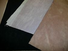 4 Pieces of Velveteen Upholstery Material for Teddy Bear Making