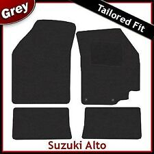 Suzuki Alto Tailored Fitted Carpet Car Mats GREY (2009 2010 2011 2012 ...)