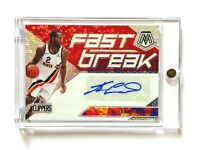 2019-20 Panini Mosaic Kawhi Leonard AUTO Card, Fast Break Disco Prizm, Clippers!