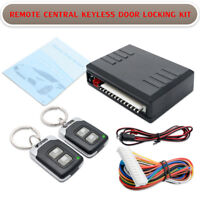 Car Keyless Entry Security System Door Remote Control Central Lock Locking Kit