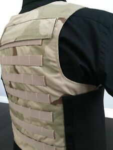USA BODY ARMOR concealable Plate Carrier  BULLETPROOF 3a Vest Made With Kevlar