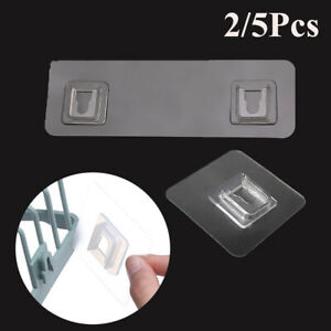 Holder Fix Bathroom Shelf Wall Rack Traceless Hooks Seamless Adhesive Hook