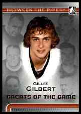 2006-07 In The Game Between The Pipes Gilles Gilbert #90