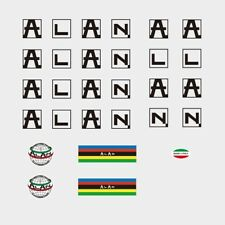 Alan c.1975 Bicycle Frame Stickers - Decals - Transfers: Black. n.750