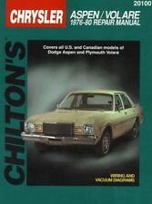 1976-1980 Chilton Chrysler Aspen & Volare Repair Manual
