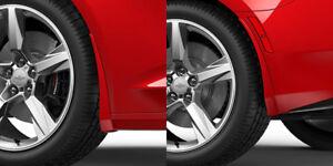 2016-2019 Camaro Genuine GM Front & Rear Splash Guards Red Hot