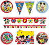 Official Mickey Mouse Birthday Party Tableware Supplies Loot Bags Banners Plates