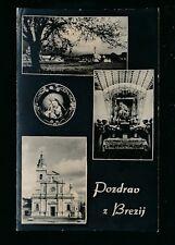 Czechoslovakia Pozdrau  z Brezij c1920/30s? RP PPC