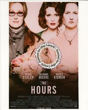 Meryl Streep, Nicole Kidman, Julianne Moore color still THE HOURS (2002) 8x10 Th
