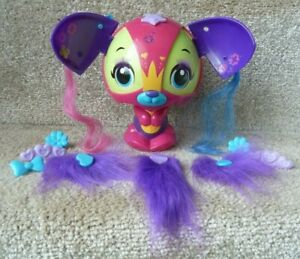 Zoobles Dazzle-Doo Large Zooble with Accessories Retro collectable 2010 CATRINA!