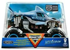 Monster Jam 1:24 Die-Cast 2020 Monster Truck - Blue Megalodon Shark
