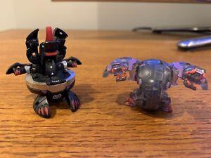 Bakugan Darkus Heavy Metal Alpha Hydranoid and Translucent Dual Hydranoid Bundle