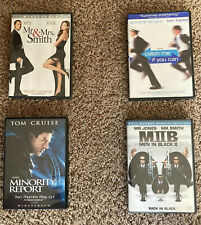 New listing Dvd lot of 4 Mr & Mrs Smith, Minority Report, Mib 2, Catch me if you Can