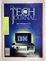 Vintage Magazine, PC Tech Journal December 1984, Good Condition, PC IBM 80's