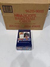 1990-91 Hoops Basketball Box, Sealed! Case Fresh! Possible Michael Jordan PSA