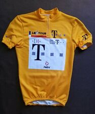 Vintage Pinarello Team telekom Nalini yellow jersey retro Cycling  Rare Le tour