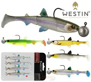 Deviltail Eels sea /& freshwater fishing lure for Cod Pollock Bass FREE shipping