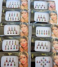 10 Indian Bindi Face Gems Jewelry For Sale Forehead Stickers Festival Belly