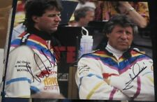 Michael Mario Andretti Racing Indy 500 SIGNED 8x10 Photo COA Autographed IRL