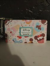 Loungefly Disney Minnie Mouse cupcake Cardholder ID Wallet NEW IN STOCK