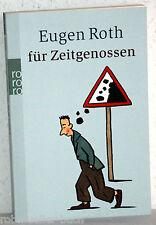 Eugen Roth für ZEITGENOSSEN